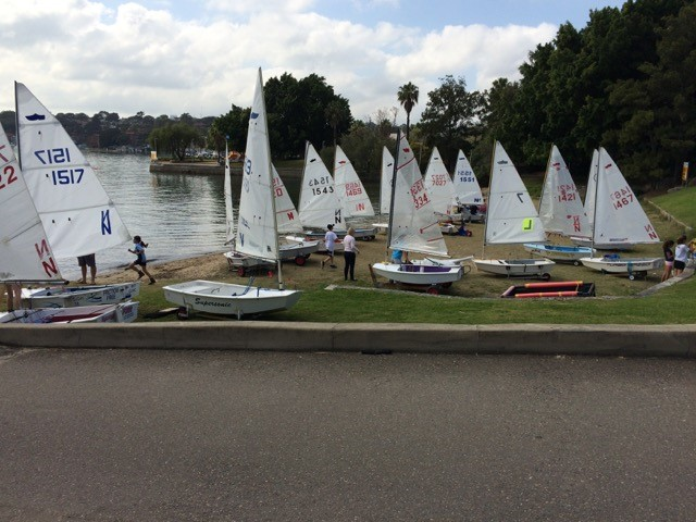 The World Famous Drummoyne Sabot training camp in the September school holidays.