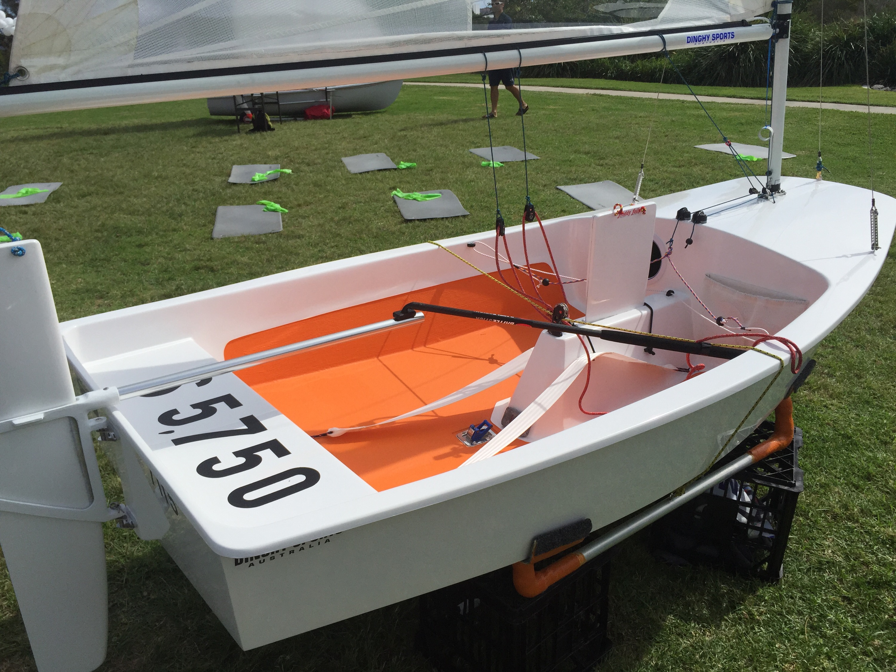 New Sabot DX – Race Success