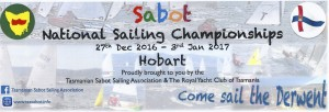 SABOT NATIONALS HOBART FLYER