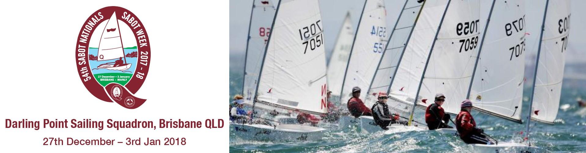 2017-2018 Sabot Nationals Darling Point Sailing Squadron. Brisbane QLD